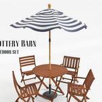 تحميل موديلات  372 Table & chair- طاولة-وكرسي PB outdoor set 2012