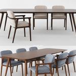 تحميل موديلات  374 Table & chair- طاولة-وكرسي cattelan italia VITTORIA 2010