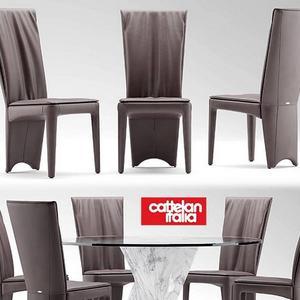 تحميل موديلات  377 Table & chair- طاولة-وكرسي cattelan Italia RIVER  ARCADIA