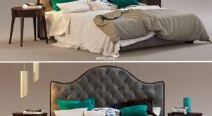 تحميل موديلات  352 Philipp Selva Letto Onda  سرير bed
