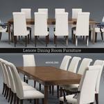 تحميل موديلات  379 Table & chair- طاولة-وكرسي Mylon & Lui