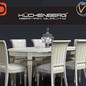 تحميل موديلات  381 Table & chair- طاولة-وكرسي Camilla
