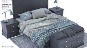 تحميل موديلات  355 Ikea Undredal سرير bed
