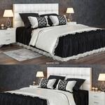 تحميل موديلات  362 سرير bed Clothes 04 سرير bed