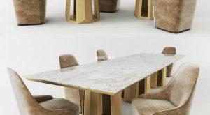 تحميل موديلات  389 Table & chair- طاولة-وكرسي Casamilano