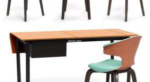 تحميل موديلات  391 Table & chair- طاولة-وكرسي Montera Fred