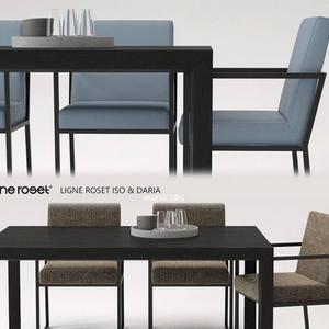 تحميل موديلات  392 Table & chair- طاولة-وكرسي and