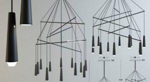 تحميل موديلات  1100 ضوء السقف
