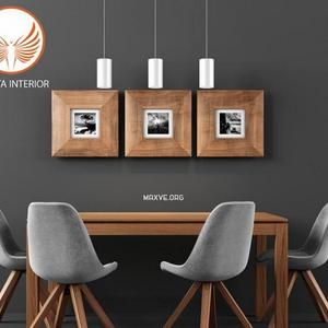 تحميل موديلات  396 Table & chair- طاولة-وكرسي