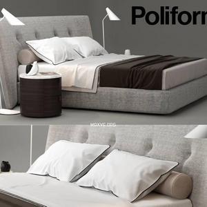 تحميل موديلات  376 Poliform Rever سرير bed