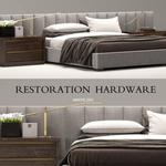 تحميل موديلات  377 RH restoration hardware vertical سرير bed