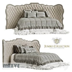 تحميل موديلات  378 Jumbo Pleasure سرير bed(340x210x152h)