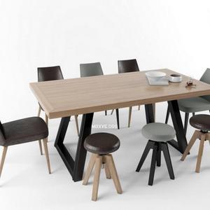 تحميل موديلات  401 Table & chair- طاولة-وكرسي
