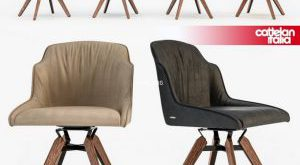 تحميل موديلات  807 Cattelan Italia TYLER chair كرسي