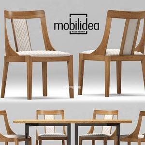 تحميل موديلات  402 Table & chair- طاولة-وكرسي Adam Eva