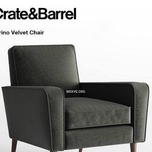 402 تحميل موديلات كنب Crate and Barrel Torino Velvet Chair