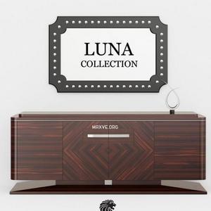 تحميل موديلات  268 خزانة-ذات-أدراج Luna komod