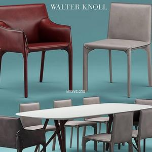 تحميل موديلات  404 Table & chair- طاولة-وكرسي walterknoll Saddle