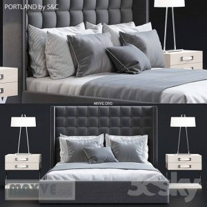 تحميل موديلات  404 PORTLAND سرير bed  by S&C 2011