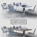 تحميل موديلات  410 Table & chair- طاولة-وكرسي gervasoni   brick