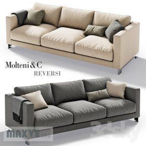 427 Molteni&C كنب Edouard ED225 3ds