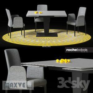 تحميل موديلات  419 Table & chair- طاولة-وكرسي OSIRIS DINING  fin