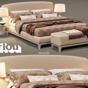 تحميل موديلات  410 Flou Oliver سرير bed