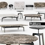 تحميل موديلات  427 Table & chair- طاولة-وكرسي Poliform  TRIBECA coffee s