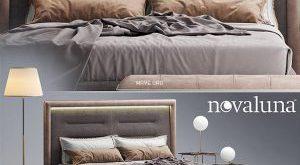 تحميل موديلات  429 Novaluna QUEEN سرير bed