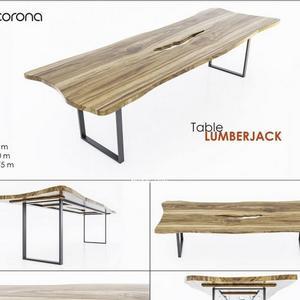تحميل موديلات  436 Table & chair- طاولة-وكرسي Lumberjack