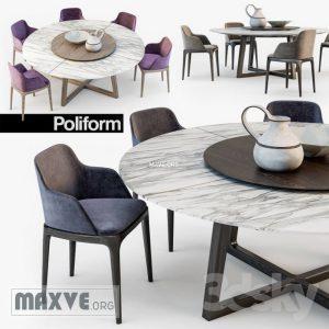 تحميل موديلات  438 Table & chair- طاولة-وكرسي GRACE  CONCORDE
