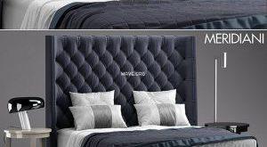 تحميل موديلات  438 Meridiani TURMAN  سرير bed