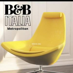 تحميل موديلات  505 Armchair Metropolitan B&B Italia Chair كرسي