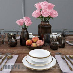 تحميل موديلات  279 أدوات المائدة