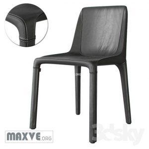تحميل موديلات  829 Poliform Manta 1 Chair كرسي