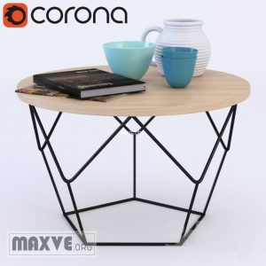 تحميل موديلات  457 Table & chair- طاولة-وكرسي Origami Coffee  2010