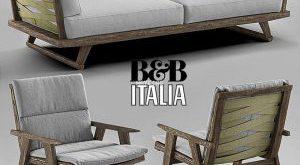489 تحميل موديلات كنب B&B Italia Gio