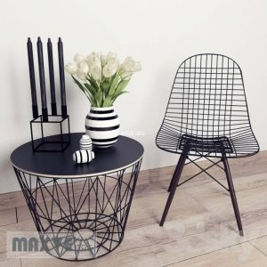 تحميل موديلات  458 Table & chair- طاولة-وكرسي VITRA