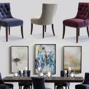 تحميل موديلات  459 Table & chair- طاولة-وكرسي Cecelia