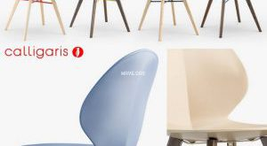 تحميل موديلات  850 Basil W chair كرسي