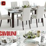 تحميل موديلات  466 Table & chair- طاولة-وكرسي Scavolini freetime