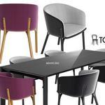 تحميل موديلات  469 Table & chair- طاولة-وكرسي Ton arm split