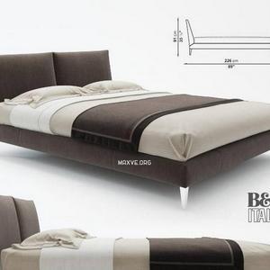 تحميل موديلات  185 b&b italia سرير bed