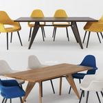 تحميل موديلات  470 Table & chair- طاولة-وكرسي vitra