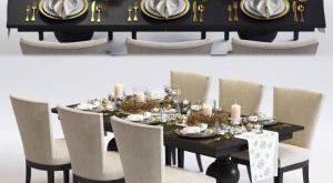 تحميل موديلات  474 Table & chair- طاولة-وكرسي Clayton Winnetka