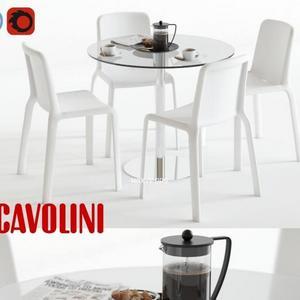 تحميل موديلات  475 Table & chair- طاولة-وكرسي scavolini loop snow