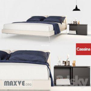 تحميل موديلات  478 Cassina سرير bed