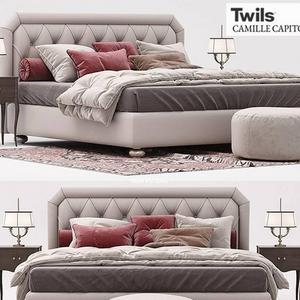 تحميل موديلات  482 Twils سرير bed