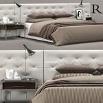 تحميل موديلات  491 RH diamond tufted سرير bed