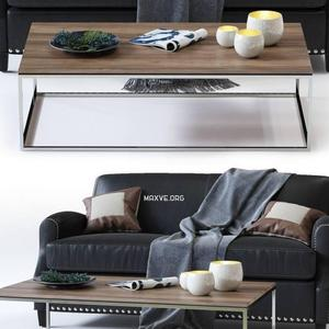 تحميل موديلات  489 Table & chair- طاولة-وكرسي Metropole Sofa